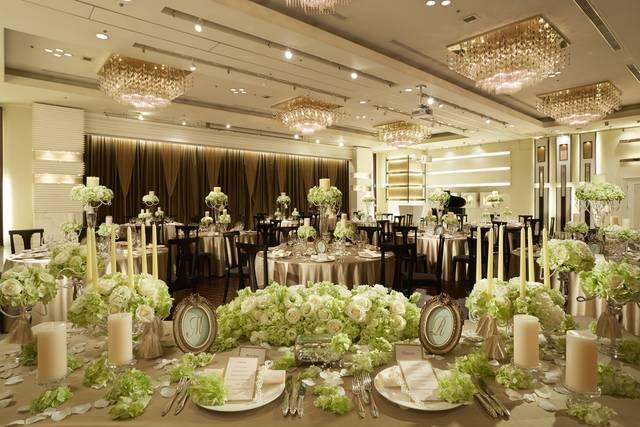 新横浜国際ホテル ウェディング マナーハウス 披露宴会場