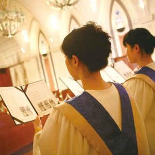 聖歌隊の生演奏