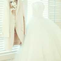 ドレスはプラン内のものだと、地味すぎるので、旦那のとも合わせ40万円近く追加で払いました。