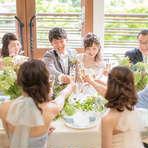 ◆少人数でゆったりと 20名53万円~ 【挙式+会食プラン】