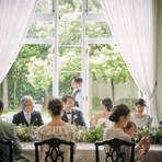 4ヵ月以内のご結婚式限定!◆家族や親しい友人と少人数パーティ