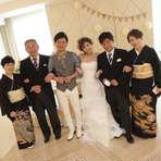 【今だからこそご家族で】記念日を先延ばしにしない家族婚プラン
