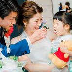 30名様【来館から4ヶ月以内限定】パパママ&キッズ婚プラン