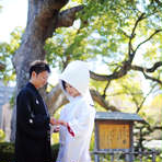 【OFFシーズン】歴史ある神社で本格和婚<30名103万円>