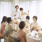 お得な挙式+会食プラン!!【6名様180,950円~】