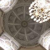チャペルの天井です。惚れ惚れしちゃいます