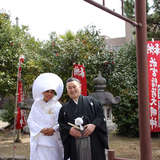 江島若宮神社さんで神前式