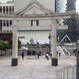 赤坂見附駅方面からの入口