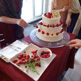 ケーキは味も抜群でした。