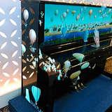 螺鈿のピアノ