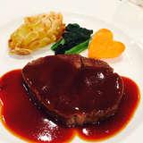 メインのお肉料理です。