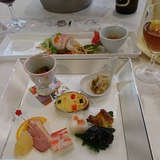 前菜です。魚介のサラダが美味しかったです