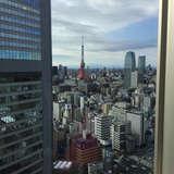 会場から見える東京タワー