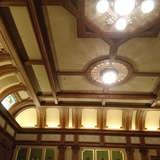 披露宴の天井