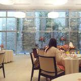 披露宴会場正面の窓