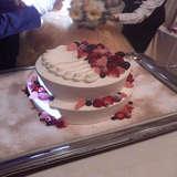 ウェディングケーキです。 可愛かった