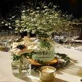 テーブルのお花です