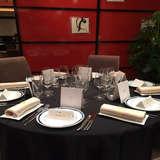 試食会時のテーブルコーディネイト