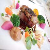 野菜の彩りが可愛くお肉も柔らかい