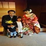 甥と姪と記念撮影