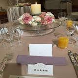 テーブルの雰囲気です。