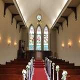 ステンドグラスがキレイな教会
