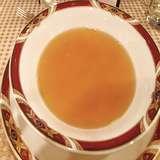 伝統のダブルコンソメスープ