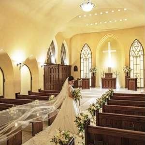 【独立型教会で叶う!】フォトウエディングプラン