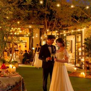 【会費制の結婚式40名53万円~】挙式+1,5次会パーティー