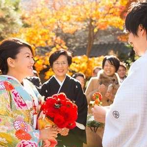 【9月~11月】紅葉が彩る挙式披露宴 全館貸切プラン