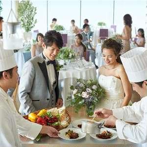 【家族で会食⇒挙式⇒友人とパーティ!】2部制ウェディングPLAN