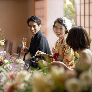 料理重視!贅沢和フレンチ×お食事会プラン【20名124万円】