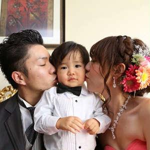 お子様と一緒にHAPPY WEDDING★
