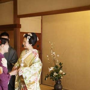 【老舗料亭×人前式】日本家屋内で行う人前式プラン50名