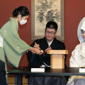 【近しい方を招いた茶婚式】30名×和食堪能お披露目会