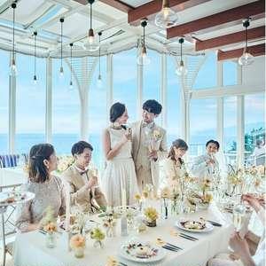 日程変更無料【22年12月まで】60名163万円◆五感で愉しむ結婚式