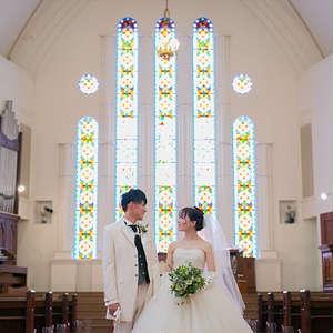 【フォト】大聖堂で大満足撮影100カットフォトウエディング♪