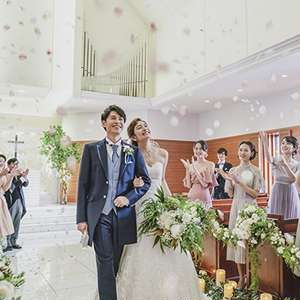 【Springプラン】大人気シーズン♪気候のいい春にご結婚式を♪