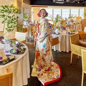 【30名112万円】芝大神宮×赤坂 なだ万◆披露宴プラン