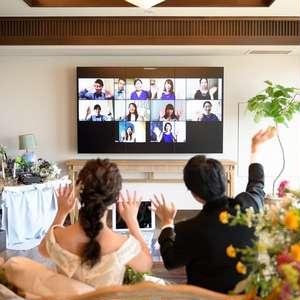 《Withコロナの新しい結婚式★》35万で実現♪リモート婚プラン♪