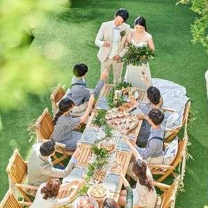 【挙式+会食パーティー10名57万円】家族中心の家族婚プラン