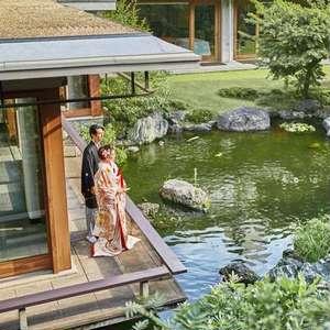 【庭園神前式プラン】庭園神前式×和洋装どちらも楽しむオトナ婚
