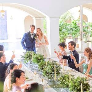 家族婚《6名39万円》大切なゲストと過ごす挙式+会食プラン