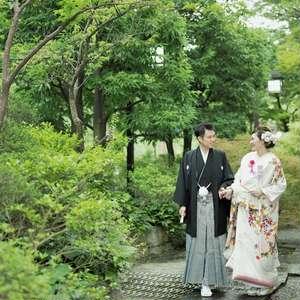 【白河院フォト婚】日本庭園で優雅なひとときを<平日>