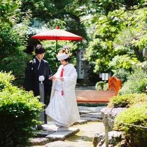 美しい日本庭園で深緑婚プラン50