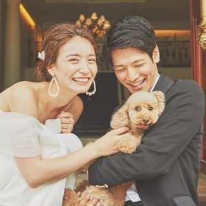 【ペット婚プラン】大切な家族と一緒にウエディングを