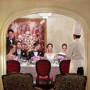 【ホテル最高級のスイートルームで結婚式】プライベートWプラン