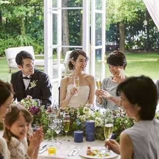 【全館貸切で安心】少人数婚★30名様 挙式&会食プラン★