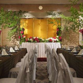 ◆結プラン◆芝大+50名披露宴(芝パークホテル)