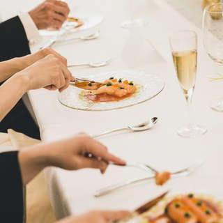 【会食プラン】結婚式前の顔合わせ利用にも◎